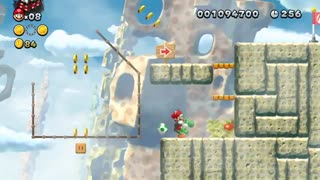 تریلر لانچ بازی New Super Mario Bros. U Deluxe