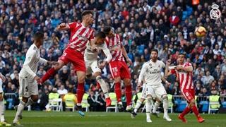 گل اول رئال مادرید به خیرونا توسط کاسمیرو