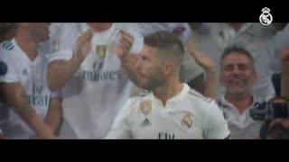 نماهنگ رئال مادرید به مناسبت ششصدویکمین بازی سرخیو راموس
