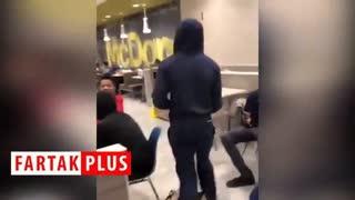 اتفاقی که تمام مشتریان رستوران را فراری داد!