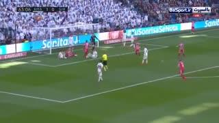 خلاصه بازی رئال مادرید 1-2 خیرونا