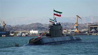مراسم الحاق زیردریایی فاتح به نیروی دریایی ارتش