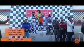 مرحله دوم مسابقات موتور کراس بانوان 97