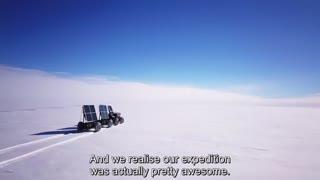 پرینتر سه بعدی و سفر به قطب جنوب از طریق  وسیلهی نقلیهی پلاستیکی!!