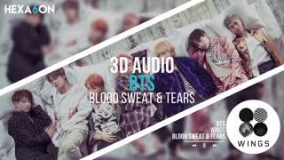 آهنگ 3بعدی از- Blood Sweat_BTS