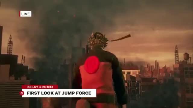 گیم پلی بازی JUMP FORCE