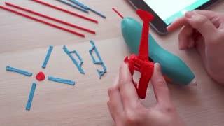 پرینتر سه بعدی و تولید محصولات ساده از طریق خودکار و صفحهی ipad