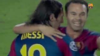 همه گلهای بارسلونا به المپیک لیون