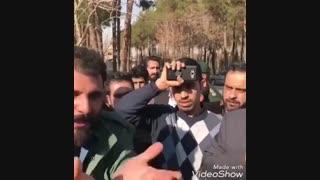 سخنان برادر شهید حادثه تروریستی با روحانی