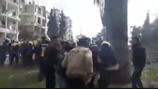 اولین تصاویر از انفجار مهیب در ادلب سوریه