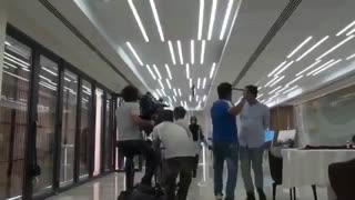 اولین پشت صحنه سریال رقص روی شیشه