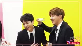 INFINITE-Kim Sung Kyu & Nam Woo Hyun twitter update Begin Again BTS-دلم برای گیو تنگیده