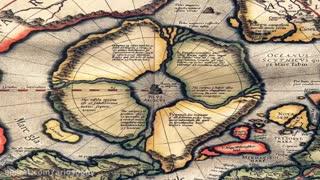 صلیب شکسته نماد قاره ای کهن که از تمام نقشه ها حذف شد (خاستگاه نژاد آریایی)