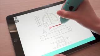 با این ابزار ساده روی گوشی خود نقاشی سه بٌعدی بکشید