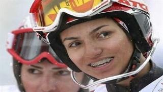 کار جوانمردانه بانوی اسکی ایران
