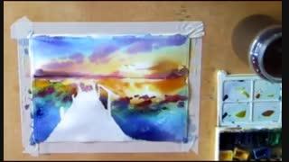 ویدیو نقاشی از اسکله