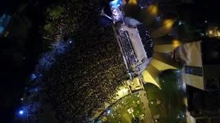 برگزاری کنسرت خیابانی محمد معتمدی