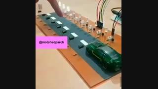 شبیه سازی چراغ های هوشمند بزرگراه ها به منظور صرفه جویی در مصرف برق