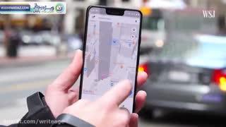 قابلیت مسیریابی با واقعیت افزوده در گوگل مپ