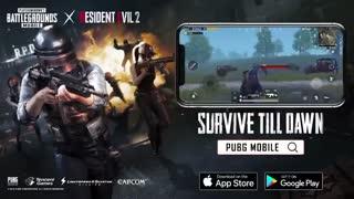 تریلر آپدیت بخش زامبی بازی PUBG Mobile