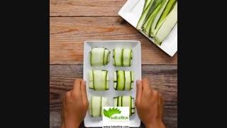 طرز تهیه یه غذای خوشمزه با کدو سبز - سبزی لاین