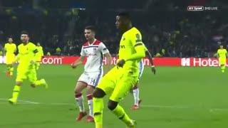خلاصه دیدار لیون 0_0 بارسلونا  (یکهشتم پایانی لیگ قهرمانان اروپا)