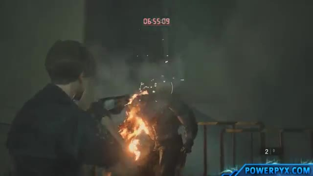 تروفی In the Blink of an Eye در بازی Resident Evil 2 Remake