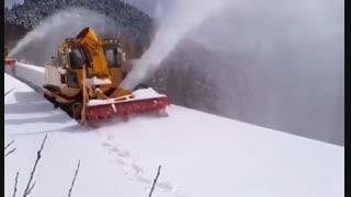 برف روب مکنده