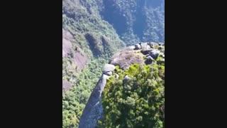 تفریح بر فراز کوه Dedo de deus - ریودوژانیرو - برزیل