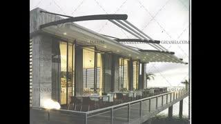 حقانی 09380039391-سقف تاشو رستوران - پوشش متحرک رستوران سنتی