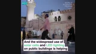 تجهیز تمام مساجد اردن به نیروگاه خورشیدی