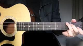 Cold Water - Justin Bieber (Major Lazor) Guitar Lesson Tutorial Chords اموزش گیتار