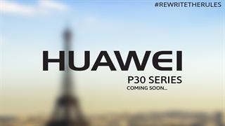 تیزر تاریخ رونمایی از گوشیهای جدید خانواده P30 هوآوی