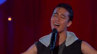 اجرای اهنگ Just The Way You Are از Joel Pimentel در مسابقه خوانندگی لابندا
