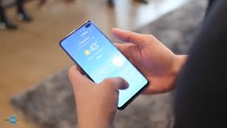 اولین تجربه کار با Samsung Galaxy S10 & S10+ - سختافزارمگ