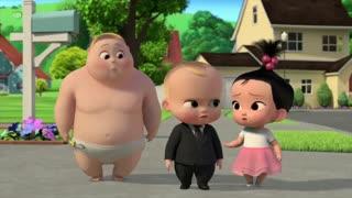 فصل 2 قسمت 11 انیمیشن سریالی بچه رییس بازگشت به کار با دوبله فارسی