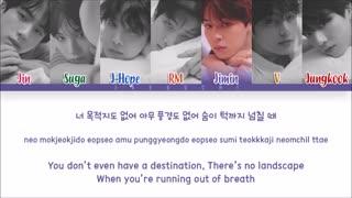 BTS (방탄소년단) - PARADISE (낙원) (Color Coded Lyrics En