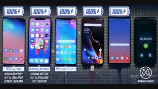تست باتری گلکسی اس 10 پلاس با iPhone XS Max ، Mate 20 Pro، OnePlus 6T و Galaxy Note 9