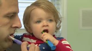 اولین دندان کودک
