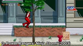 دانلود مجموعه 5 بازی کلاسیک رنجرهای قدرتمند Power Rangers برای کامپیوتر با همه گیم پلی های این مجموعه