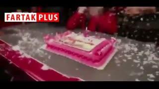 جشن تولد کریم باقری در باشگاه پرسپولیس