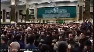 عزاداری حضرت فاطمه زهرا (س) با حضور امام خامنه ای برگزار شد
