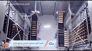 خط تولید تمام اتوماتیک نان صنعتی