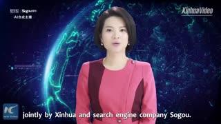 با اولین زن رباتیک گوینده خبر آشنا شوید