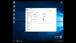کلیدهای میانبر Windows File Explorer - مدیریت ویندوز اکسپلورر