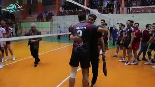 حواشی دیدار دوم پیام خراسان و فولاد سیرجان ایرانیان در مرحله یک پلیآف لیگ برتر والیبال 97