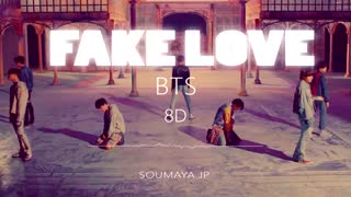 BTS- FAKE LOVE- هشت بعدی