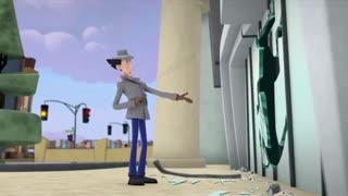 انیمیشن سریالی کارآگاه گجت ق3دوبله فارسی Inspector Gadget 2015