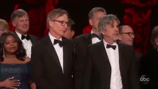 اهدای جایزه بهترین فیلم اسکار به فیلم کتاب سبز