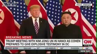 دومین دیدار سران آمریکا و کره شمالی